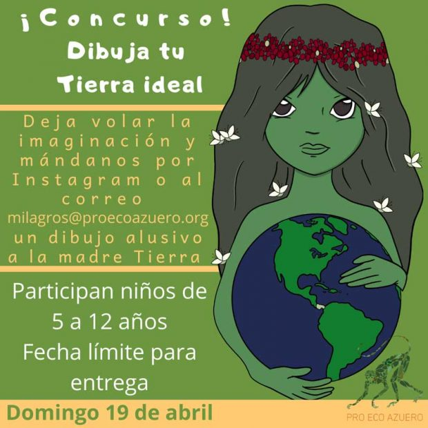 evento, 19 de abril de 2020, Concurso Dibuja tu Tierra ideal